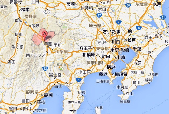 map Hokuto